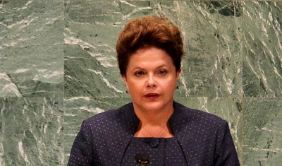 Picture of Dilma Roussef at The UN