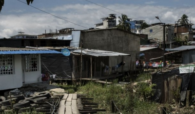 Slum in Mexico