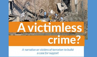 Cover of the book A Victimless Crime? A Narrative on Victims of Terrorism to Build a Case for Support.