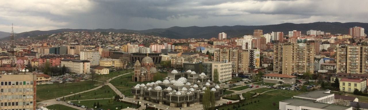 LLM Study Trip Belgrade and Kosovo View of Pristina