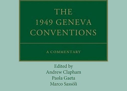 Cover page of the book The 1949 Geneva Conventions: A Commentary
