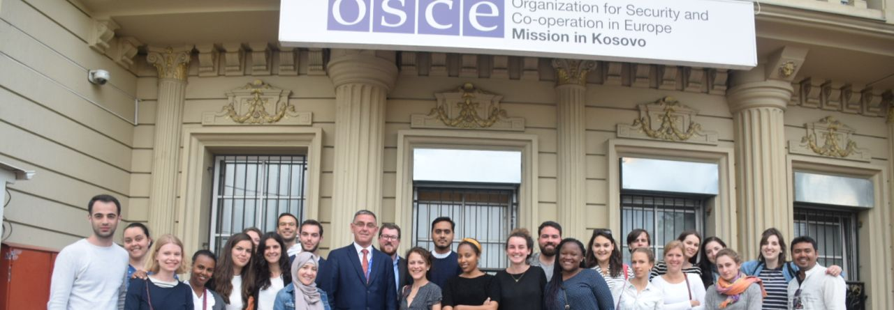 LLM Study Trip 2018 to Belgrade and Kosovo OSCE Mission in Kosovo