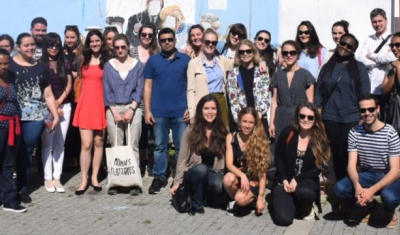 LLM Students during their 2018 study trip to Belgrade and Kosovo
