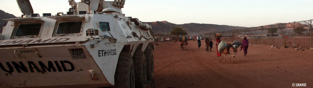 Non international armed conflicts in Sudan UNAMID