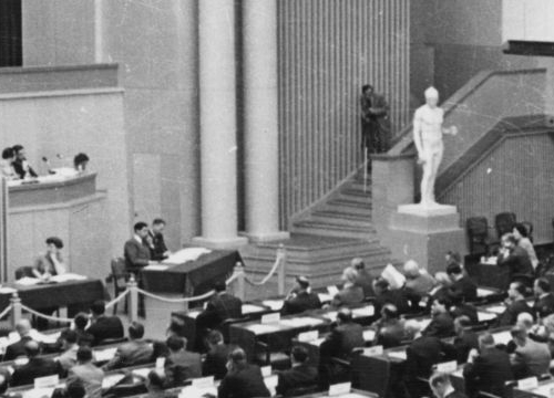 Diplomatic Conference in Geneva leading to the signature of the 1949 Geneva Conventions