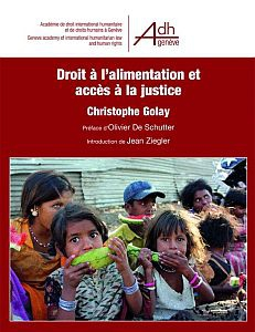 Cover of the book Droit à l'alimentation et accès à la justice