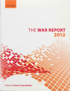 Cover of the book The War Report 2012