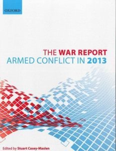 Cover of the book The War Report 2013