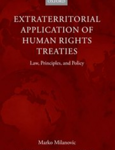 Cover of the book Extraterritorial Application of Human Rights Treaties: Law, Principles and Policy