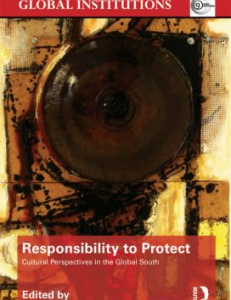 Cover of the book The Responsibility to Protect: Cultural Perspectives in the Global South