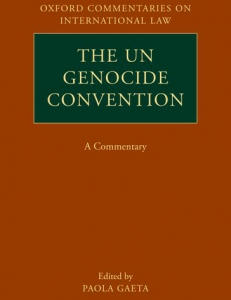 Cover of the UN Genocide Convention