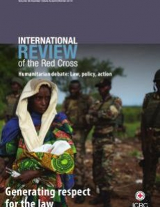 Cover of the International Review of the Red Cross
