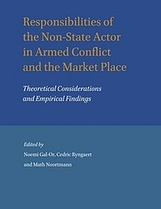 Cover of the book Establishing the Responsibility of Non-State Armed Groups for International Humanitarian Law and Human Rights Violations, Issues of Attribution