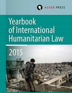Cover of Yearbook of International Humanitarian Law 2015