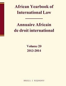 cover of African Yearbook of International Law