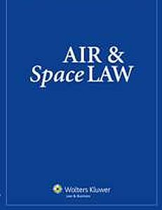 Cover Air and Space Law